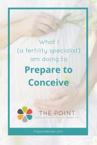 fertility prepare for pregnancy