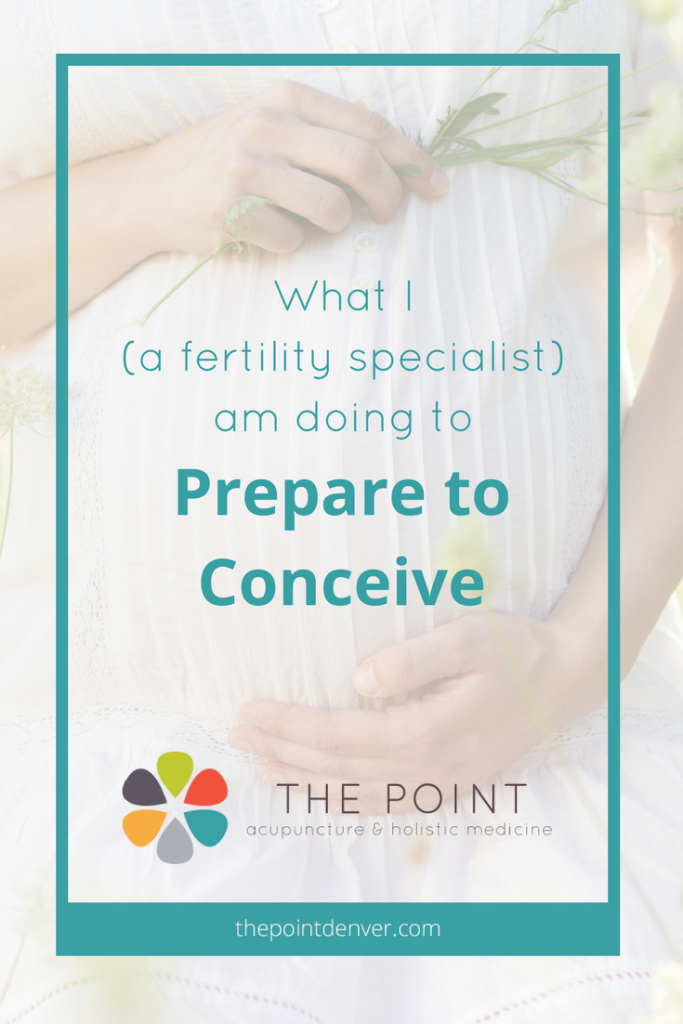fertility prepare for pregnancy