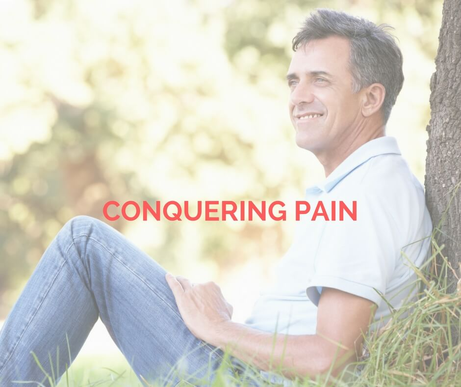 Conquering pain opt-in photo