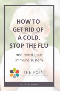 how to stop the flu or cold