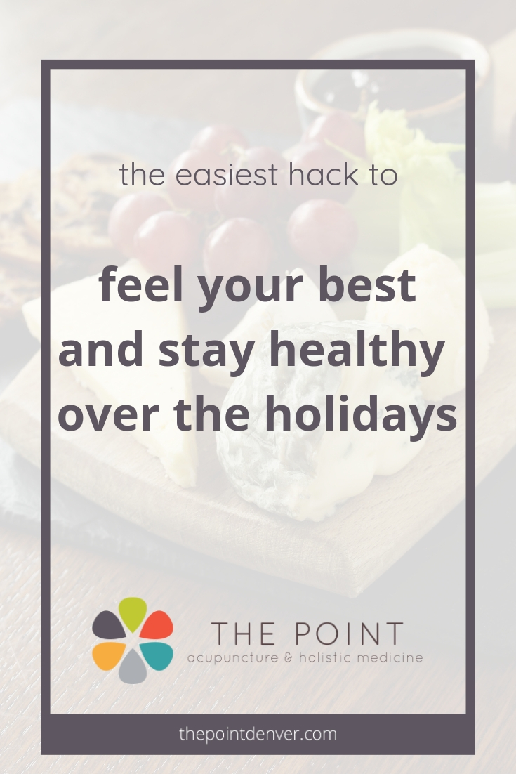 how to stay healthy over the holidays