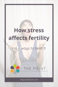 how stress affects fertility